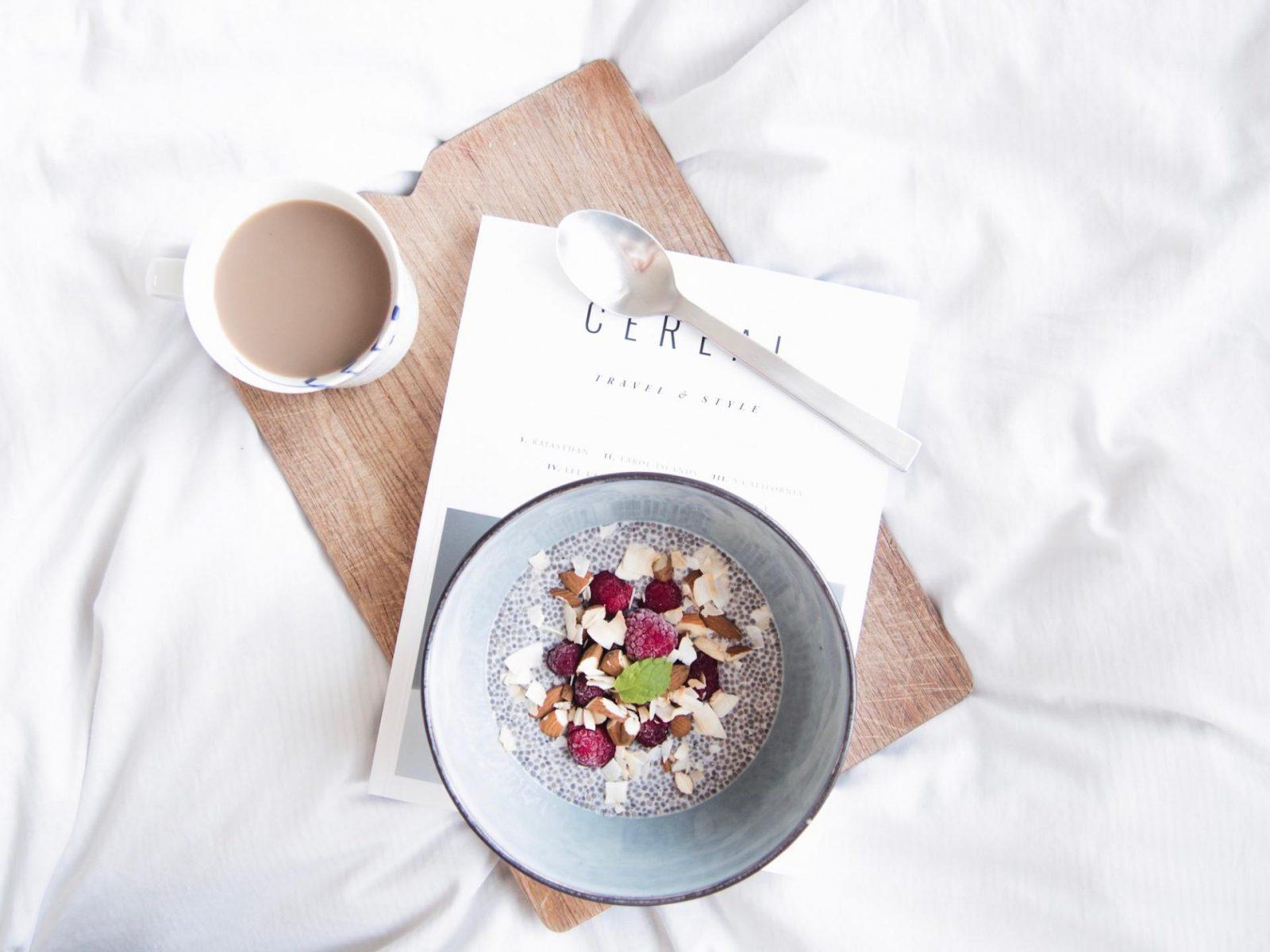 Recipe: Chia pudding with almond milk